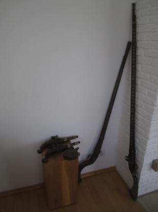 Dekorations-Waffen für Kamin oder Wand