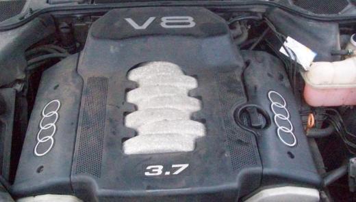 Audi A8 (4D2 4D8) 3,7 V8 quattro Motor Benzin AKJ 230 PS 1 Jahr Garantie - Gronau (Westfalen)