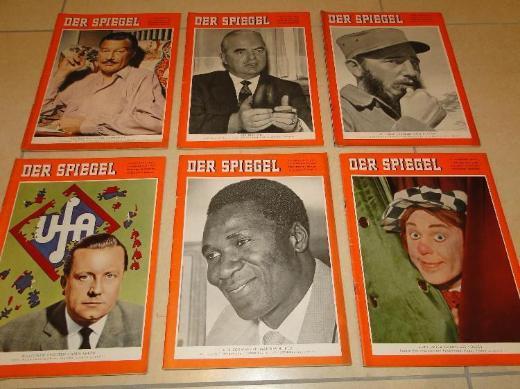 DER SPIEGEL, Jahrgang 1959, komplett, 52 Hefte