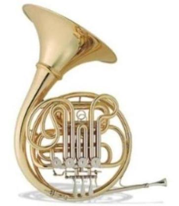 Hans Hoyer 801A-L Doppelhorn mit schraubbarem Schallbecher. Neuware
