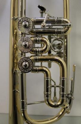 J. Scherzer Profiklasse Konzert -Trompete in C, Mod. 8217 W- L - Hagenburg