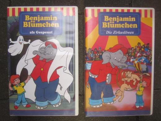 Benjamin Blümchen 2 Filme VHS