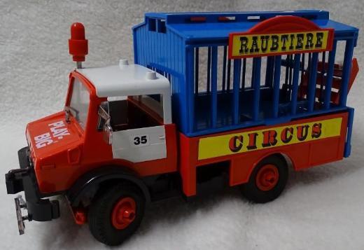 PLAY BIG Zirkusauto / Raubtierauto - Retro - Oldie - SELTEN!!!