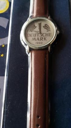 Uhr 1 Deutsche Mark - Ahlen