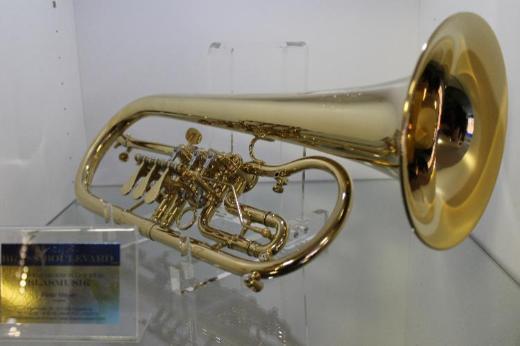 Melton Meisterwerk Profiklasse Konzert - Flügelhorn. Mod. MWF 12T-AU. Echt vergoldet. Neuware - Hagenburg