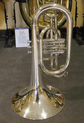 Yamaha Mellophon versilbert Mod. YMP 201 MS inkl. Koffer - Hagenburg