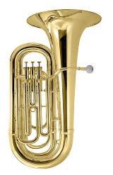 Besson BBb Tuba inklusive Rollenkoffer und Mundstück