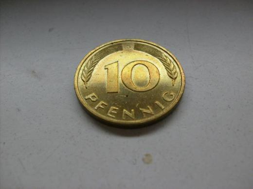 10 Pf 1996 G stgl