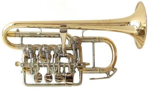 Meister J. Scherzer Piccolotrompete, Mod. 8111-L, Ausstellungsware - Hagenburg