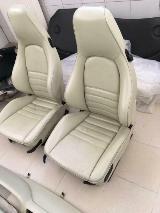Turbo Porsche Sitze 964, 911, 944, 968 Innenausstattung Vollleder