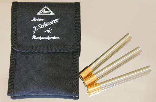 J. Scherzer Piccolo - Trompete, Mod. 8111L mit Trigger und Handstütze, Neuware - Hagenburg