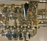 Meister J. Scherzer Piccolotrompete, Mod. 8111ST-L, Sterlingsilber, Neuware / OVP - Hagenburg