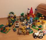 Lego Duplo Zoo Super-Set, exotische Tiere, Tierbabys, Tierpfleger - Greven