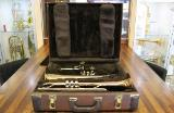 Bach Selmer Stradivarius Doppelkoffer für Flügelhorn und Trompete