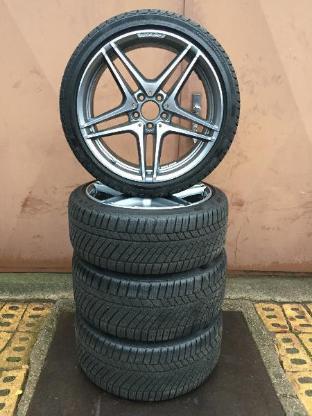 AMG Mercedes Benz C63 W205 Winterräder Alufelgen