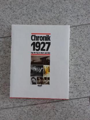 "Buch ""Chronik 1927"" aus dem Chronik Verlag"