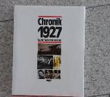 """Buch """"Chronik 1927"""" aus dem Chronik Verlag - Nottuln"""