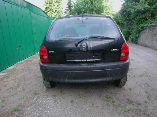 Opel Corsa B  Bj. 99 1,0 L - Heckklappe rot oder andere Farbe - Bocholt