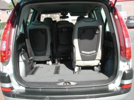 Citroen C8 V6 Automatic Leder Klima 2005 Fahrertür silber - Bocholt