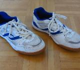 Pro Touch Sportschuhe Indoor, Gr. 39, Modell Rebel Jr., weiß-blau in 48155