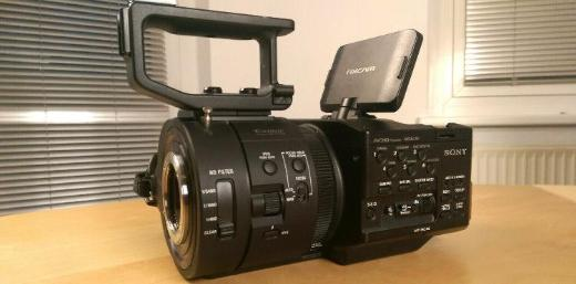 Sony NEX-FS700E Camcorder mit 240fps 4K RAW Option Full HD - Aachen