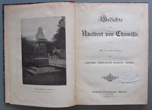Gedichte von Adelbert von Chamisso (um 1900)