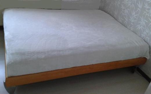 RUF Doppelbett Modell Nova Buche 160 x 200