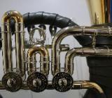 Meister Dotzauer 18925 Ventil - Fürst - Pless - Horn in B aus Goldmessing. Neuware - Hagenburg