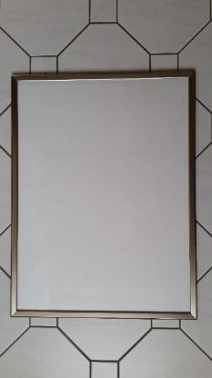 Alu-Klapprahmen, Bilderrahmen, Plakatrahmen 550 x 720mm – gebr. - Münster