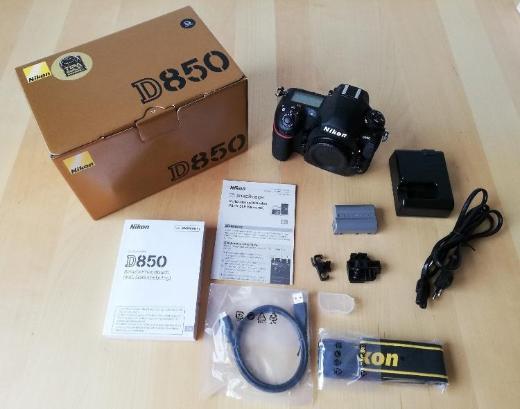 Nikon D850 Body Profikamera im Neuzustand - Dresden