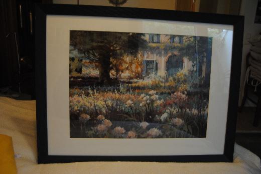 Bild, Garten Idylle