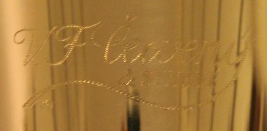 Original V.F. Cerveny Governor Euphonium 3 Ventile, Neuware mit Koffer - Hagenburg