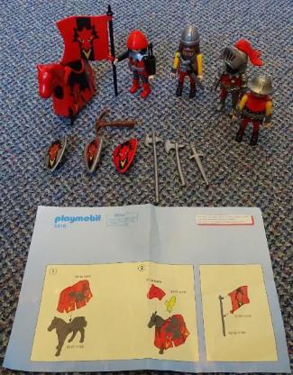 Playmobil Drachenritter mit Gefolge 3319