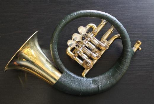 B & S Fürst Pless Horn mit Ventilen inkl. Tasche und Mundstück - Hagenburg