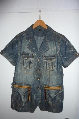 Damen Jeans-Weste  Magnum