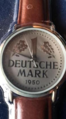 Uhr 1 Deutsche Mark