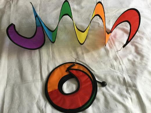 Windspiel ( Spiralen )