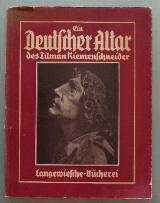 Ein deutscher Altar des Tilmann Riemenschneider.