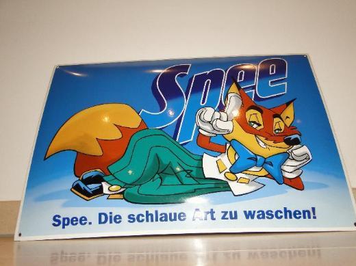 Henkel, Spee, Emaille-Schild, 60 x 40 cm