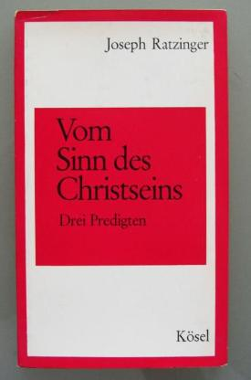 Joseph Ratzinger: Vom Sinn des Christseins (1966) - Münster