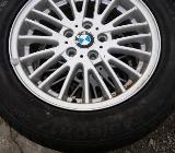 BMW X3 - E83 Alufelgen mit 215 60 17 Winterreifen 4x - Bocholt