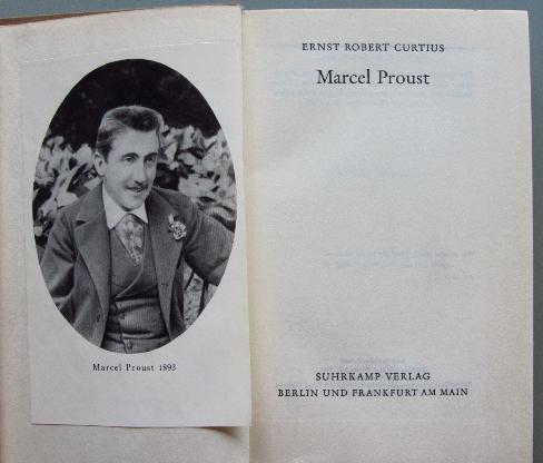 Curtius: Marcel Proust (1952)