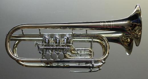 J. Scherzer Profi Konzert - Trompete in C, Mod. 8217GT-L, NEUWARE - Hagenburg