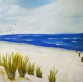 Ölbilder Strand 2