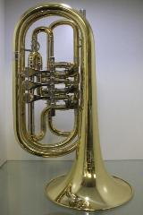Melton Profiklasse Basstrompete in Bb, Mod. 129, Neuware inkl. Tasche