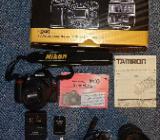 Nikon D40 / AF-S DX Zoom-Nikkor 18-55mm f/3.5-5.6G ED II, schwarz - Raesfeld