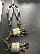 Akrapovic BMW M6 F12 F13 Sportauspuff Coupe Cabrio Klappen