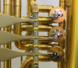 Melton 129 Basstrompete / Bass - Trompete in B, Unikat, Neuware - Hagenburg