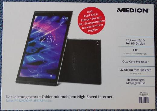 "MEDION Tablet PC X10302 10,1"" mit Case Cover - Raesfeld"