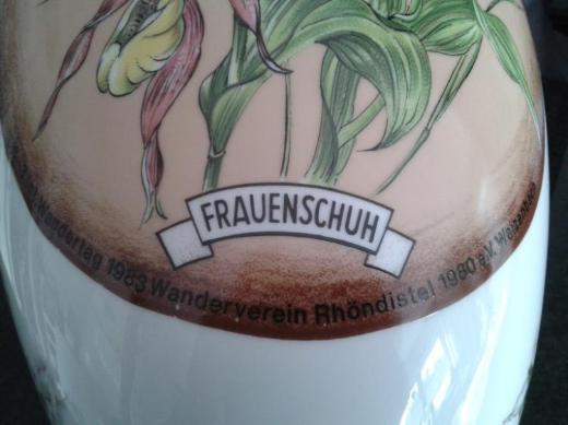 Deckelvase Jaeger Bavaria BlütenDekor RÜCKSEITE ANSEHEN !!! Rarität TOP-Zustand - Münster